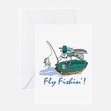 Fly Fishin' Greeting Card