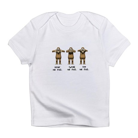 Hear No Evil Monkeys Infant T-Shirt