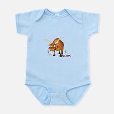 Bull Shit Design Infant Bodysuit