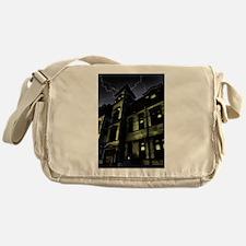 Haunted House Messenger Bag