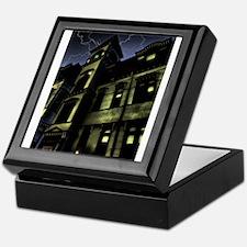 Haunted House Keepsake Box