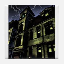 Haunted House Tile Coaster