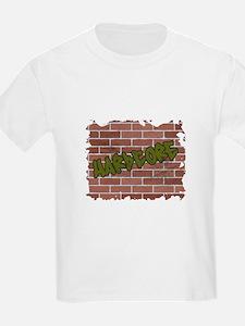"Grapffiti Style ""Hardcore"" De T-Shirt"