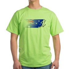 Athletics Runner - Australia T-Shirt