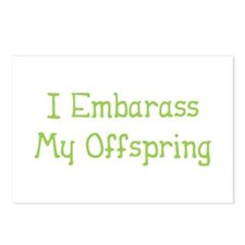 Embarass Offspring Postcards (Package of 8)