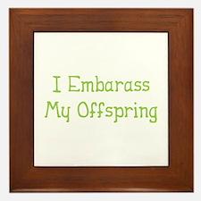 Embarass Offspring Framed Tile