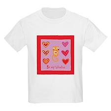 Cute Kitty Cat Valentine T-Shirt