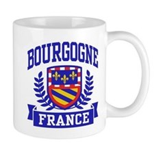 Bourgogne France Small Mug