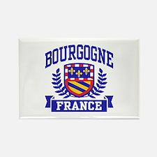 Bourgogne France Rectangle Magnet