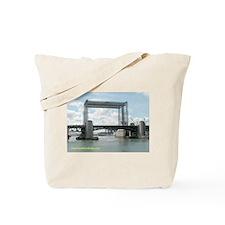 Old and New Bridge Tote Bag