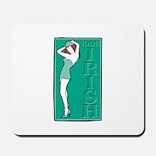 100% Irish Sexy Girl Mousepad