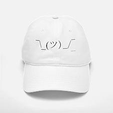 Shrug Emoticon Baseball Baseball Cap