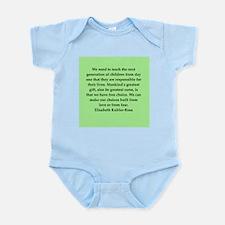 elisabeth kubler ross quotes Infant Bodysuit