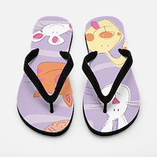 Cute Animals Flip Flops