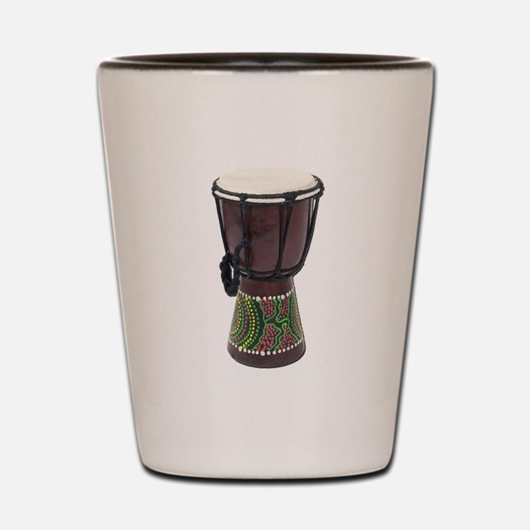 Tall_Djembe_Drum Shot Glass