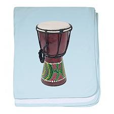 Tall_Djembe_Drum baby blanket