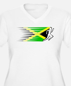 Athletics Runner - Jamaica T-Shirt