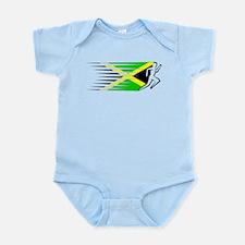 Athletics Runner - Jamaica Infant Bodysuit