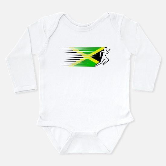Athletics Runner - Jamaica Long Sleeve Infant Body