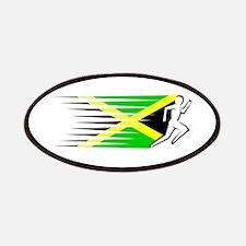 Athletics Runner - Jamaica Patches