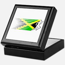 Athletics Runner - Jamaica Keepsake Box