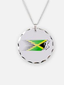 Athletics Runner - Jamaica Necklace