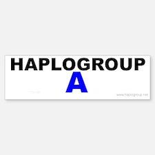 Haplogroup A Bumper Bumper Bumper Sticker
