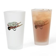 Wheelbarrow_Full_Of_Money Drinking Glass