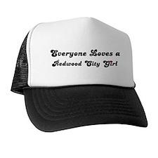 Loves Redwood City Girl Trucker Hat