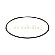 No Soliciting Patches