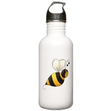 Whimsical Bumble Bee Water Bottle