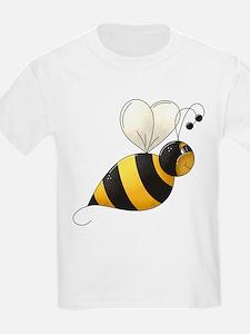 Whimsical Bumble Bee T-Shirt