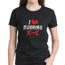 I heart (love) running XC Tee