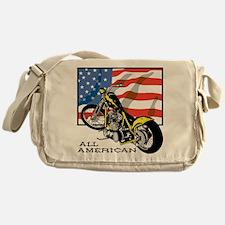 All American Chopper Messenger Bag