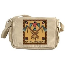 Native American Tomahawks Messenger Bag