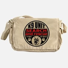 K9 Unit Search and Rescue Messenger Bag