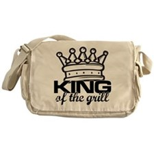 King of the Grill Messenger Bag
