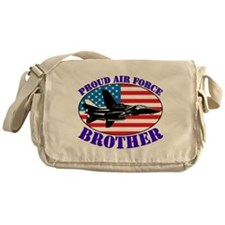 Cute Air force brother Messenger Bag