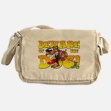 Beware Of The Dog! Messenger Bag