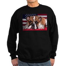 Patriotic Bulldog Sweatshirt