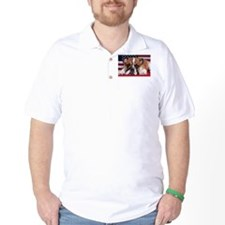Patriotic Bulldog T-Shirt