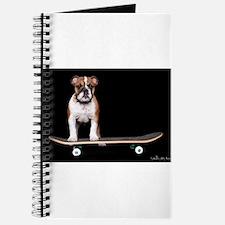 Skateboard Bulldog Journal