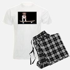 Skateboard Bulldog Pajamas