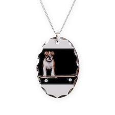 Skateboard Bulldog Necklace