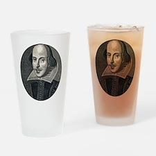 Wm Shakespeare Drinking Glass