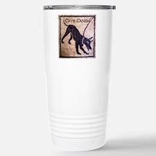 """""""Cave Canem"""" Travel Mug"""