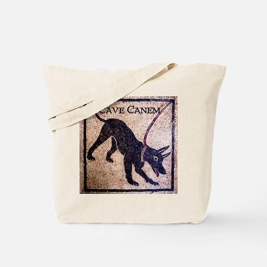 """""""Cave Canem"""" Tote Bag"""