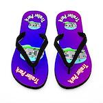 Trailer Park Redneck Flip Flops