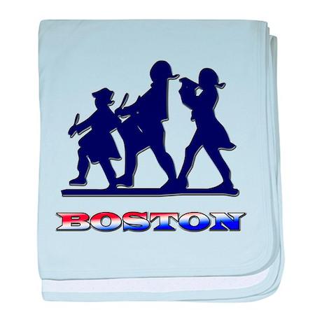 Boston Patriots baby blanket