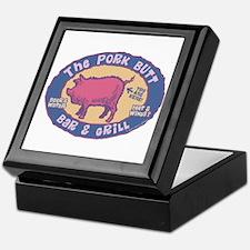 The Pork Butt Bar Keepsake Box